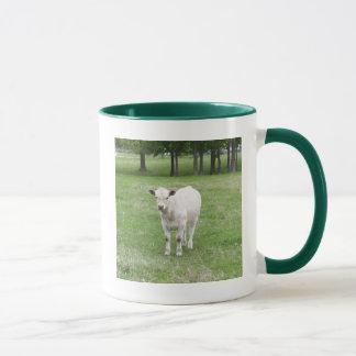 White Calf Mug