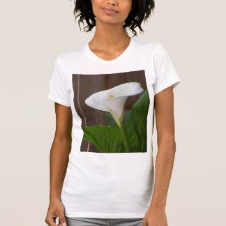 White Cali Lily Tshirt