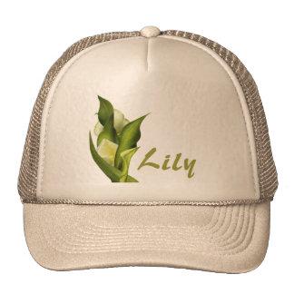 White Calla Hat