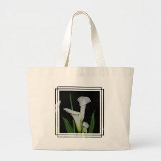 White Calla Lilies Bags