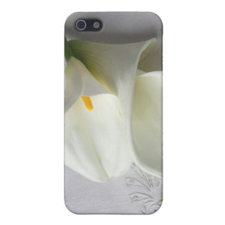 white calla lilies iphone 4 case