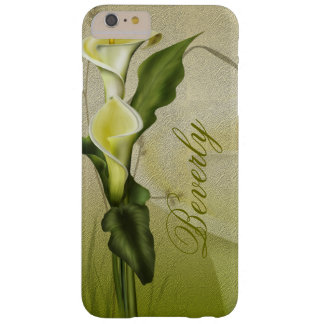 White Calla Lily Barely There iPhone 6 Plus Case