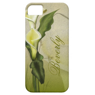 White Calla Lily iPhone 5 Covers