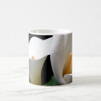 White Calla Lily Flower Coffee Mug