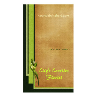 White Callas Business Card