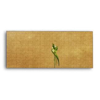 White Callas Envelope