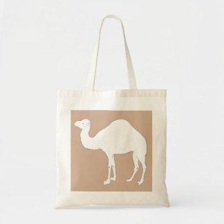 White Camel Budget Tote Bag