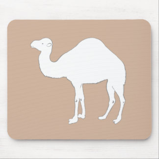 White Camel Mouse Pad