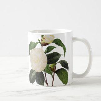 White Camellia, 1833 Coffee Mug