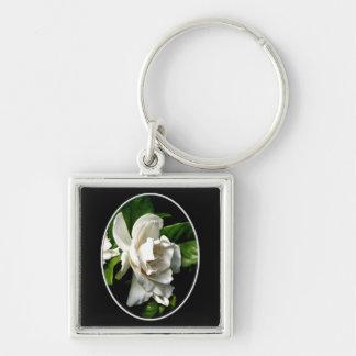 White Camellia Keychains