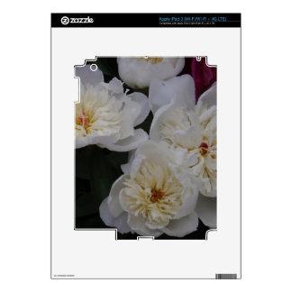 White Camellia Skin For iPad 3
