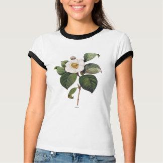 White Camellia Tee Shirt