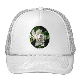 White Camellia Trucker Hat