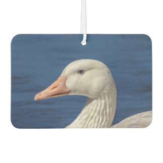White Canadian Goose Car Air Freshener
