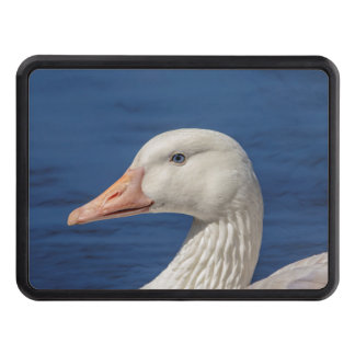 White Canadian Goose Hitch Cover