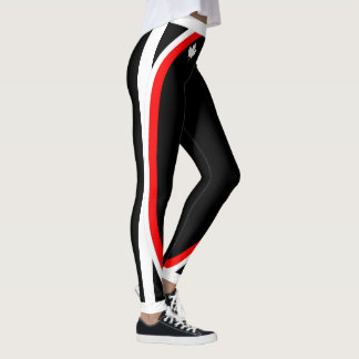 White Canadian Maple / Your Name on (Your Color) Leggings