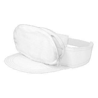 White Cap-sac Visor