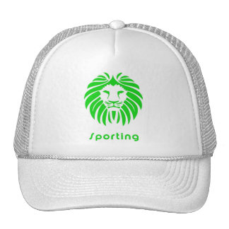 White cap Sporting Trucker Hat