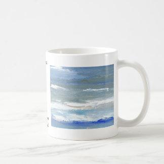 White Caps CricketDiane Ocean Art Classic White Coffee Mug