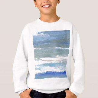 White Caps CricketDiane Ocean Art Sweatshirt