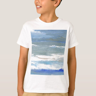 White Caps CricketDiane Ocean Art T-Shirt