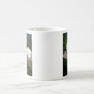 White Carnations Coffee Mug