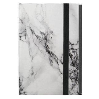 White Carrara Marble Ipad Mini Case