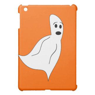 White Cartoon Ghost iPad Mini Cases