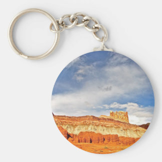WHITE CASTLE IN CAPITOL REEF NATIONAL PARK KEYCHAIN