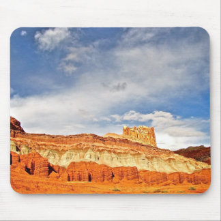 WHITE CASTLE IN CAPITOL REEF NATIONAL PARK MOUSE PAD