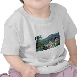 White Castle Linderhof flowers Tee Shirts