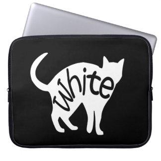 White Cat Computer Sleeve
