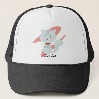 White Cat Hat