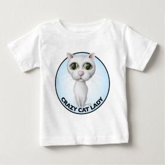 White Cat - I Love My Grandcat Baby T-Shirt