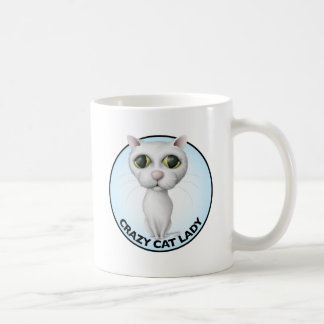 White Cat - I Love My Grandcat Coffee Mug