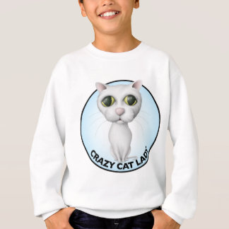 White Cat - I Love My Grandcat Sweatshirt
