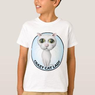 White Cat - I Love My Grandcat T-Shirt