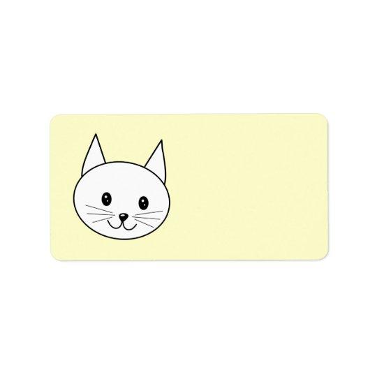 White Cat Label