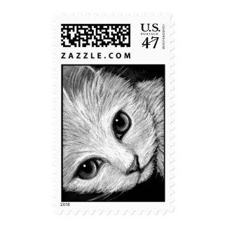 WHITE CAT Postage