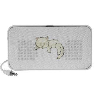 WHITE CAT LAPTOP SPEAKER