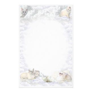 White Cat Stationery