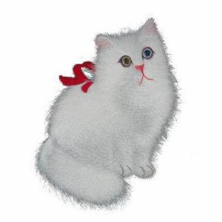 White Cat Statuette