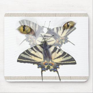 White Cat Swallowtail  Mousepad