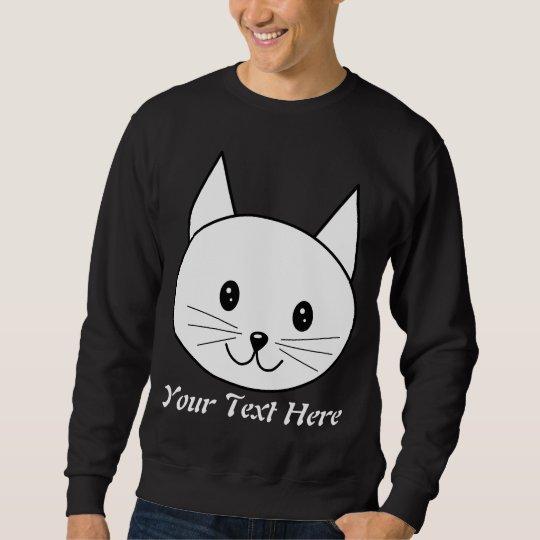 White Cat Sweatshirt