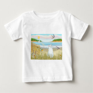 White Cat - The Rowboat Baby T-Shirt