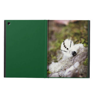 White Caterpillar Case For iPad Air