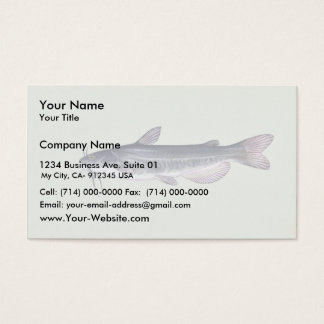 White catfish business card