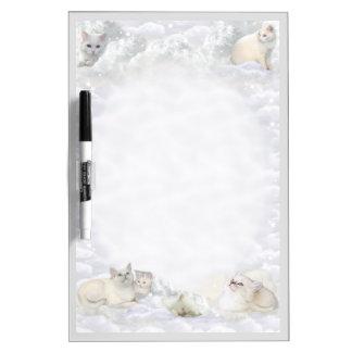 White Cats Dry-Erase Whiteboard
