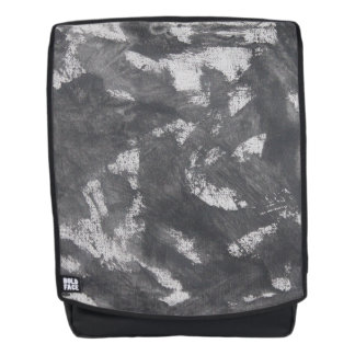 White Chalk and Black Ink Backpack