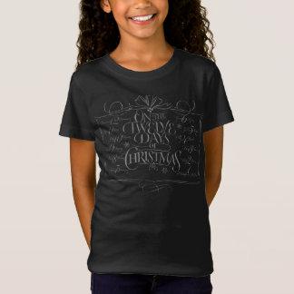 White Chalk Lettering '12 Days Christmas' Tshirt